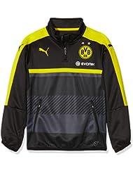 Puma Veste d'entraînementmatelassée pour enfants avec logo sponsor Équipe BVB Modèle entraînement
