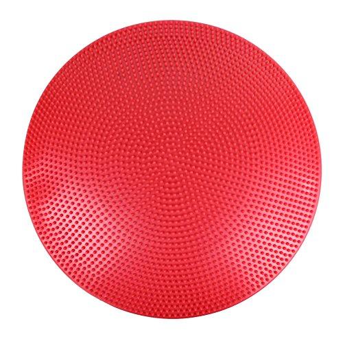 Cando 30-1868R Balance Disc rot - 60 cm Durchmesser - aufpumpbar (Balance Discs Für Kinder)