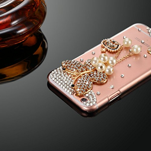Phone case & Hülle Für IPhone 6 / 6s, Diamond verkrustete Juwel Fox Pattern PC Schutzhülle Back Cover ( SKU : IP6G1006G ) IP6G1006B