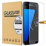 Samsung Galaxy S7 Schutzfolie, [2 Stück] Temsesen PET Galaxy S7 Displayschutzfolie, Ultra Klar Full HD-Schutz vor Wasser, Fingerabdrücke, Ölschmutz, Staub, Vollständige Abdeckung HD Film