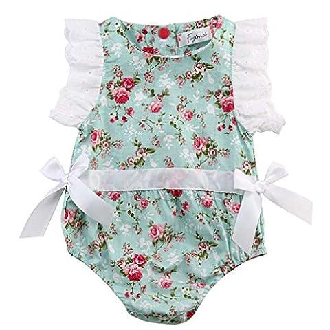 SAMGU Enfants Nouveau-né Petit-Enfant Baby Girl Romper Jumpsuit Bodysuit Outfit Sunsuit Vêtements
