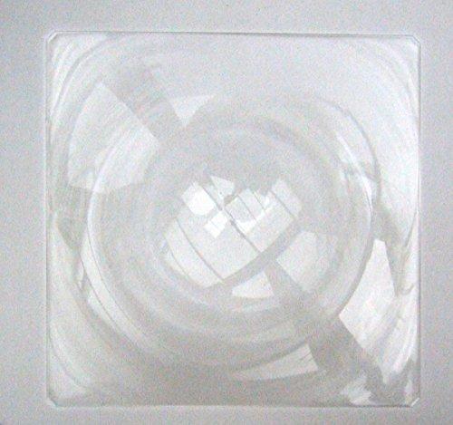 DarwinUK Grande lentille de Fresnel rigide 395 mm x 395 mm