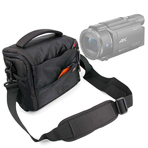 DURAGADGET Custodia Imbottita per Videocamera Somikon DV-812.HD | Sony FDR-AX33 | FDR-AX53 |...