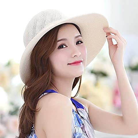 The Korean version of the beach caps seaside sun hat sunscreen Ms. Tour Visor