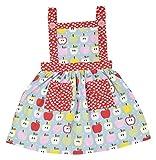 Always Kids Girls' Regular Fit Dress (Li...