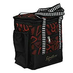 Kuber Industries Stylish Canvas Lunch Bag - KI3376