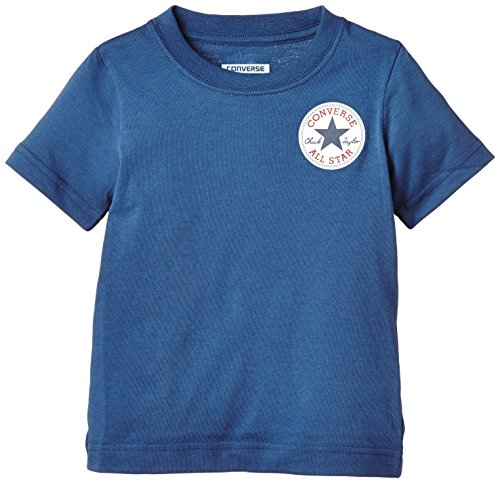 Converse Left Chest-T-shirt Bambini e ragazzi,    Blue Jay 2-3 anni