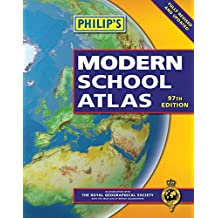Philip's Modern School Atlas: 97th Edition (Hardback)