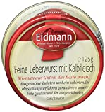 Eidmann Kalbfleisch-Leberwurst, 12er Pack (12 x 125 g)