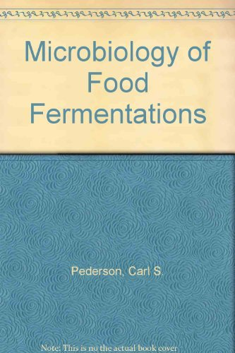 Microbiology of Food Fermentations by Carl S. Pederson (1979-12-06) par Carl S. Pederson