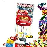 Pinata Cars Komplettset gefüllt mit 154 Teilen Süßigkeiten Zugpinata Geburtstag Feier Party Kindergeburtstag Partyset