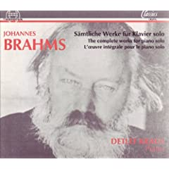 Johannes Brahms: S�mtliche Werke f�r Klavier solo