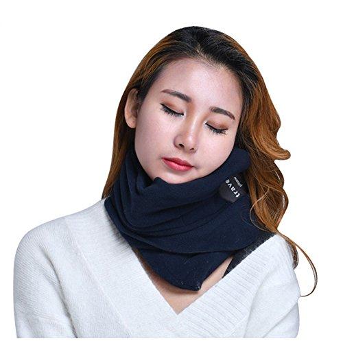 motrip-pillow-super-soft-neck-support-travel-pillow-scientifically-proven-machine-washable-blue