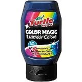 Turtle Color Magic Wax-Bleu foncé (300 ml-) restaurer Brillance & Shine SOS carrosserie Dull Etiquettes français
