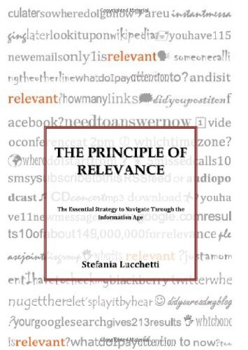 The Principle of Relevance by Stefania Lucchetti (2010-04-09)