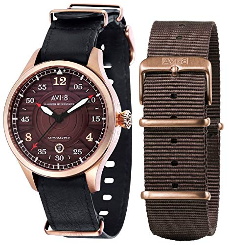 Montre Homme Avi-8 Hawker Hurricane – Noir/Marron