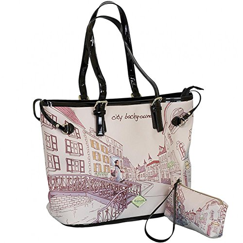 Refresh Borsa Borsetta Bag con beauty case 82978, multicolore (Gallego), taglia unica