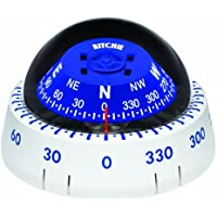 Ritchie XP-99W Kayaker Compass - Surface Mount - White by E.S. Ritchie