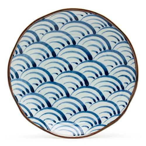 Blue Ocean Wave 22,9cm Teller Ocean Blue Teller