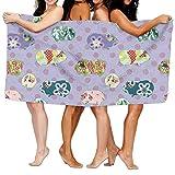 deyhfef Unisex Meerschweinchen Strandtücher Badetücher für Teen Girls Erwachsene Reisen Handtuch Waschlappen 31 x 51 Zoll