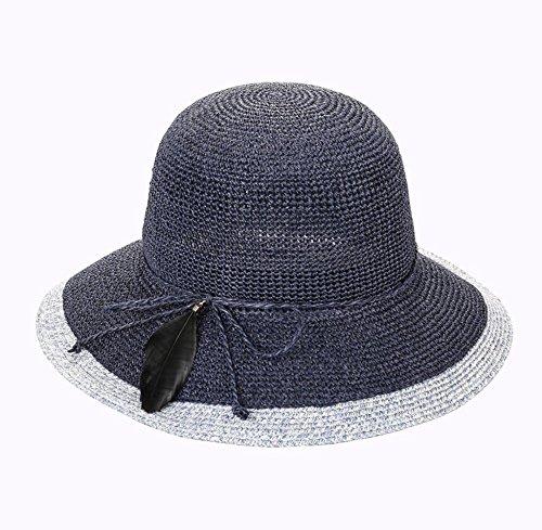 HIAO Sun hat children spring summer visor small fresh light breathable solar cap foldable sunscreen Cap