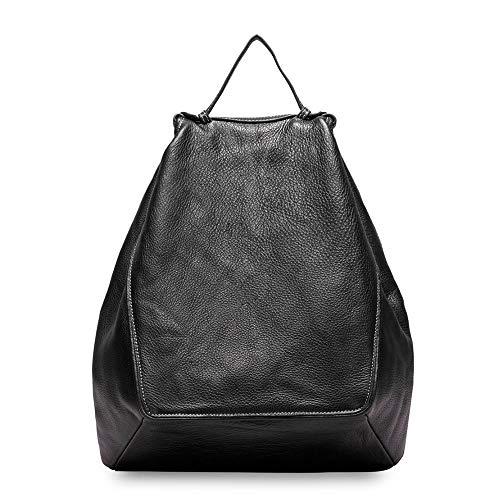 ZHONGYANCHEN Rucksack Große Kapazität Damen Rucksack Pu Weiblichen Reisetasche Schultasche Mädchen Rucksack Unregelmäßig