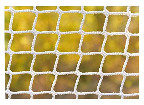 Cricket Backstop Net, Ball Stop Net für Fußballplatz Court Golf Barrier Ersatz Ziel Seil Net Stadium Outdoor Wall Zaun Geländer Schützen net (Color : 6mm(15/64), Size : 2 * 2m(6.6 * 6.6ft))