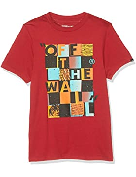Vans Otw Checker Blaster Ii, Camiseta para Niños
