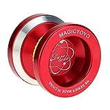 Goolsky Magic Yoyo Profesional N8 Aleación de Aluminio Metálico Yoyo 8 Bolas KK Rodamiento con Cuerda Hilatura para Niños