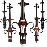 aliyes handgefertigt Professional Massivholz E-Cello 4