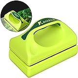 UEETEK Magnetic Acuario Limpiador de Vidrio Tanque de Pescado Algae Scrubber Aquatic Floating Clean Brush (Green)