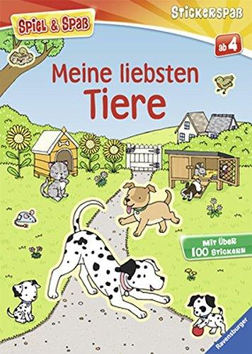Meine liebsten Tiere (Spiel & Spaß - Stickerspaß)