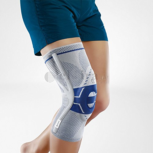 Preisvergleich Produktbild GENUTRAIN Knieband.P3 m.Sil.Haftr.lin.Gr.6 titan 1 St