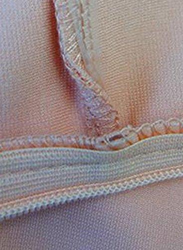 ACHICGIRL Women's Halter Neck Front Slit Bodycon Club Dress Pink