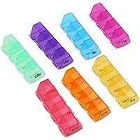 prosperveil 7Tage tragbar rund klein Medizin Box Weekly Tablet Organizer Pille Fall preisvergleich bei billige-tabletten.eu