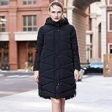 TT&FUSHI Herbst und Winter Damen waren dünne Kapuze Baumwolle langen Abschnitt dicke dicke dicke Jacke , 5xl