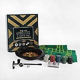 Roulette Poker Black Jack Craps Dice 5 Game Set Monte Carlo
