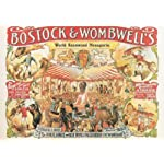 S1061 SMALL BOSTOCK & WOMBWELL'S METAL ADVERTISING WALL SIGN RETRO ART
