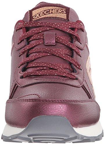 Skechers OG 82Shimmers - Baskets Basses - Femme Rouge (BURG)