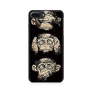 PRINTASTIC Three Wise Monkeys Premium Printed Mobile Back Case For Apple iPhone 7 Plus