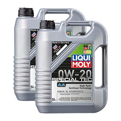 2x LIQUI MOLY 9734 Special Tec AA 0W-20 Motoröl API SN ILSAC GF-5