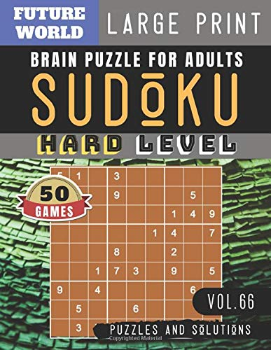 Sudoku Hard: killer sudoku large print | 50 Sudoku Difficult Puzzles and Solutions For Expert Large Print (Sudoku Puzzles Book Large Print Vol.66)