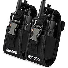 Funda multifunción con soporte para GPS, teléfono Motorola/Kenwood/Midland/ICOM/Yaesu/Baofeng o walkie talkie de 2 vías, de Keesin