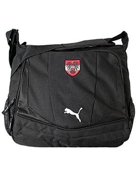 Puma Country Shoulder Bag Austria Tasche Messenger Textil schwarz 33 CM x 38 CM X 11 CM NEU Umhängetasche