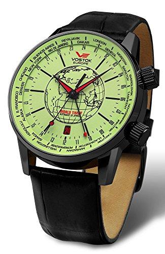 Vostok Europe 2426-5604240 - Reloj de pulsera hombre, Cuero