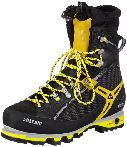 Salewa PRO VERTICAL (M), Scarpe da escursionismo e trekking unisex adulto nero (Schwarz (black/yellow 0903))