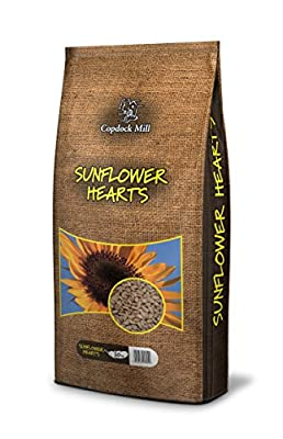 Copdock Mill Sunflower Hearts, 20 Kg by Copdock Mill
