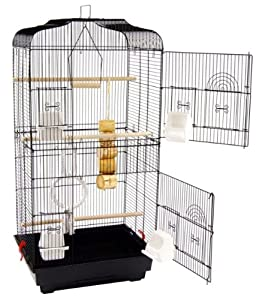 Large San Pablo Double Door Bird Cage With Swing