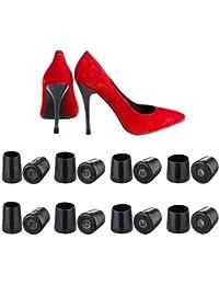 Protector de Tacón Alto, Wady 24 Pares Tacos para Tacones, Protectores Zapatos de Mujer para Razas, Bodas, Ocasiones Formales