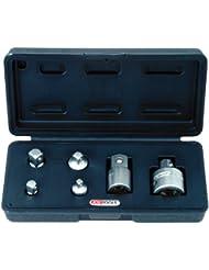 """KS Tools 911.0106 - Juego de adaptadores (1/4"""", 3/8"""" y 1/2"""", 6 unidades)"""
